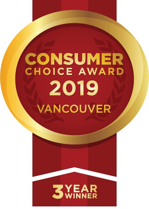 2019 Vancouver Consumer Choice Award