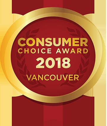 2017 Vancouver Consumer Choice Award