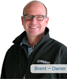 professional painting company owner Brent