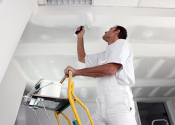 Benchmark Painting ceiling repair
