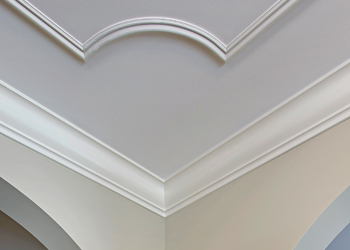 professional moulding installation by Benchmark Painting
