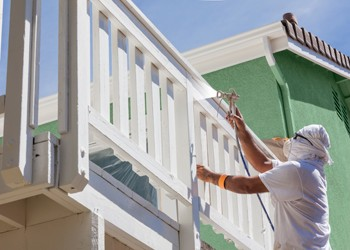 Spring exterior painting by Benchmark Painting